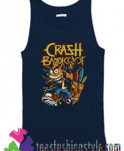 Thrash Bandicoot Metal Artwork Tank Top By Teesfashionstyle.com