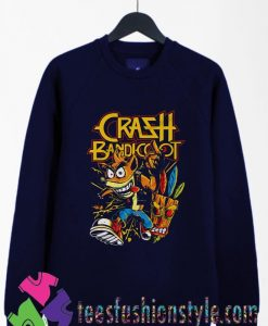 Thrash Bandicoot Metal Artwork Sweatshirts By Teesfashionstyle.com