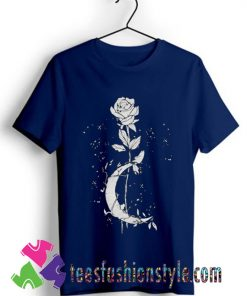 Witchcraft flower halloween T shirt For Unisex By Teesfashionstyle.com
