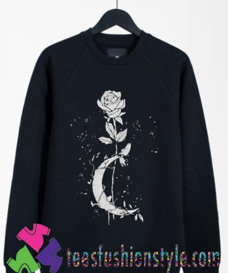 Witchcraft flower halloween Sweatshirts By Teesfashionstyle.com