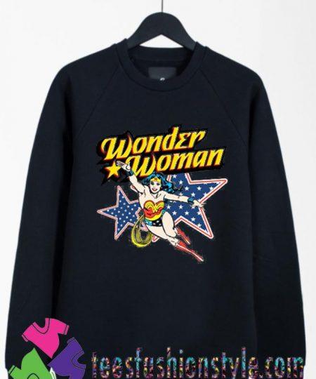 Wonder Woman Action Crewneck Sweatshirts By Teesfashionstyle.com