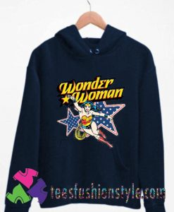 Wonder Woman Action Crewneck Unisex Hoodie By Teesfashionstyle.com