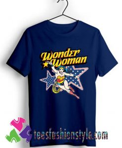 Wonder Woman Action Crewneck T shirt For Unisex