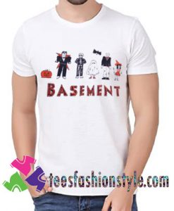 Basement Band Halloween T shirt For Unisex By Teesfashionstyle.com
