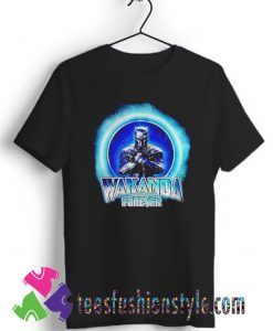 Black Panther Merchandise Wakanda forever T shirt For Unisex