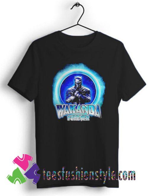 Black Panther Merchandise Wakanda forever T shirt For Unisex