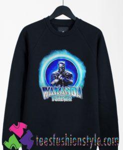 Black Panther Merchandise Wakanda forever Sweatshirts