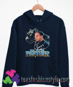 Black Panther and Dad Unisex Hoodie By Teesfashionstyle.com