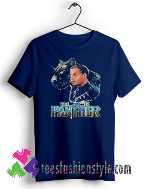 Black Panther and Dad T shirt For Unisex By Teesfashionstyle.com