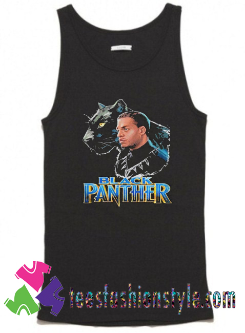 Black Panther and Dad Tank Top By Teesfashionstyle.com