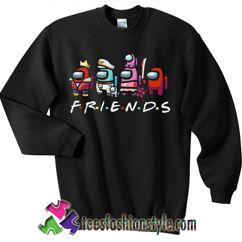 Among Us Friends Sweatshirt