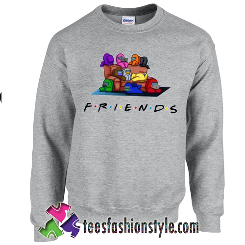 Friends Among Us Impostor Funny Sweatshirt