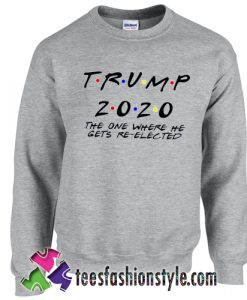 We Love Trump 2020 election Sweatshirt