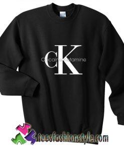 Cocaine & Ketamine CK sweatshirt