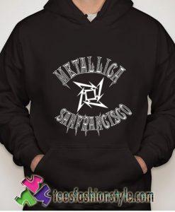 Metallica sanfrancisco basketball hoodie
