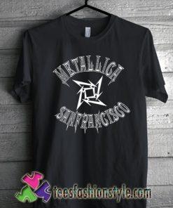 Metallica sanfrancisco basketball t shirt