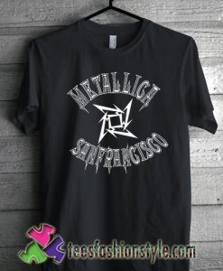 Metallica sanfrancisco basketball t shirt